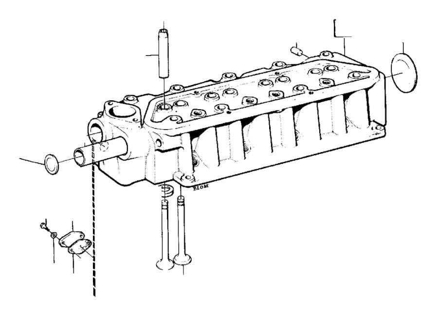 Volvo 240 Expansion Plug  B17  B19  B20  B21  B23