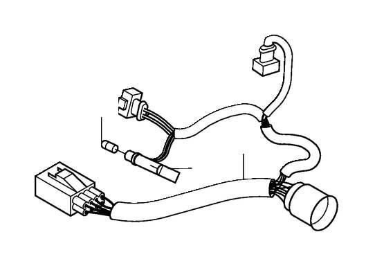 Volvo V70 Xc Headlight Wiring Harness  Left   Ch 173000
