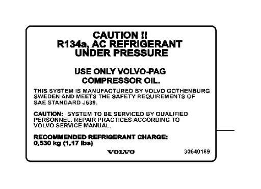 Volvo S40 Decals Engine Compartment  E Approved  D5244t13