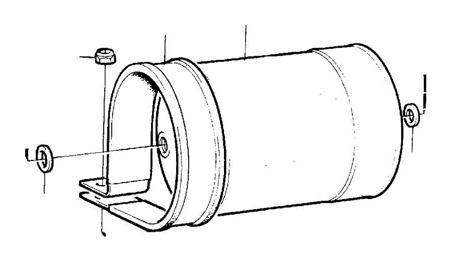 Volvo 740 Fuel Filter  Fittings  App  Engine