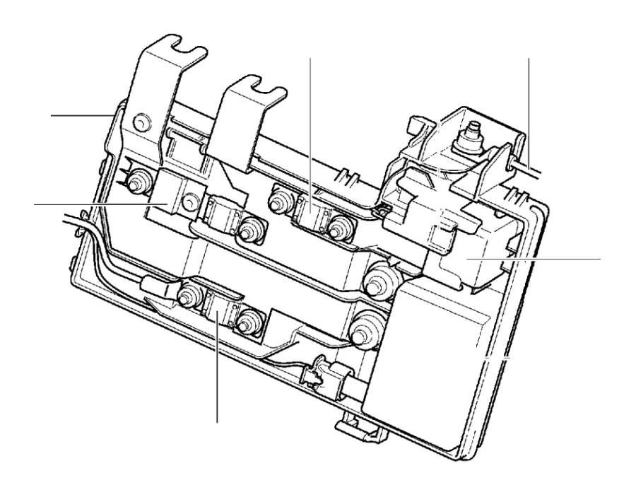 volvo v60 fuse  primary fuse box engine compartment