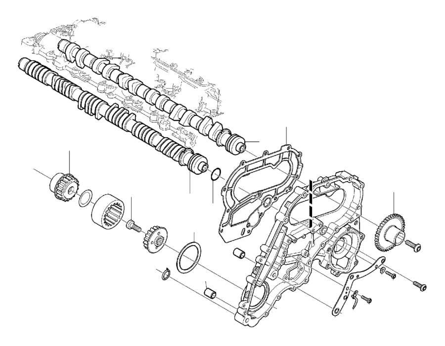 Volvo S80 Engine Camshaft  Transmission  Exhaust