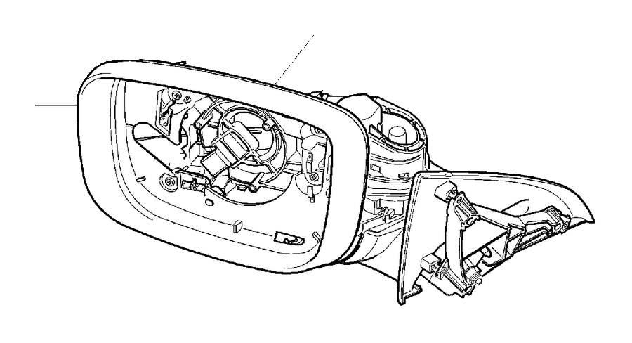 volvo xc60 drive unit  door mirrors  electric folding
