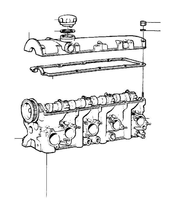 Volvo 240 Gasket  B17  B19  B21  B23  Engine With Fittings
