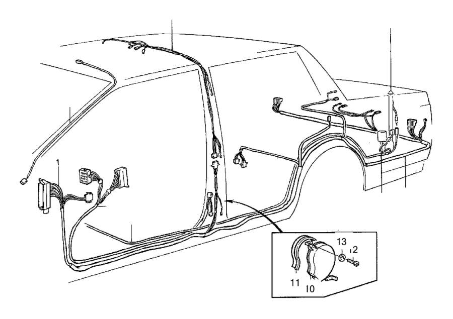 Diagram  Volvo 940 Wiring Diagrams Automotive Full