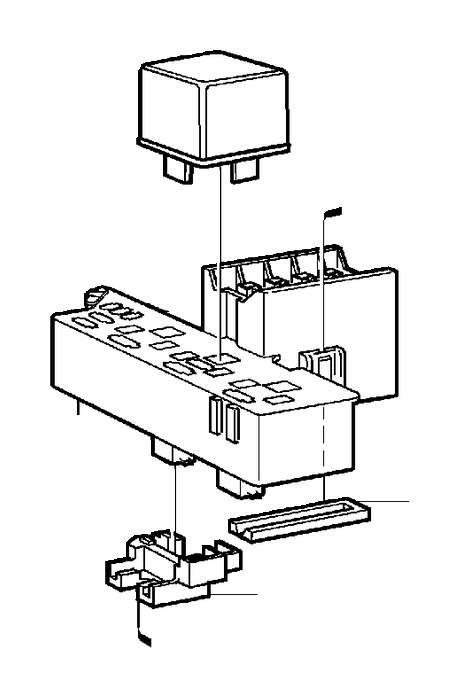 Volvo S70 Insulator  Connector  Diesel  Dsl  Engine