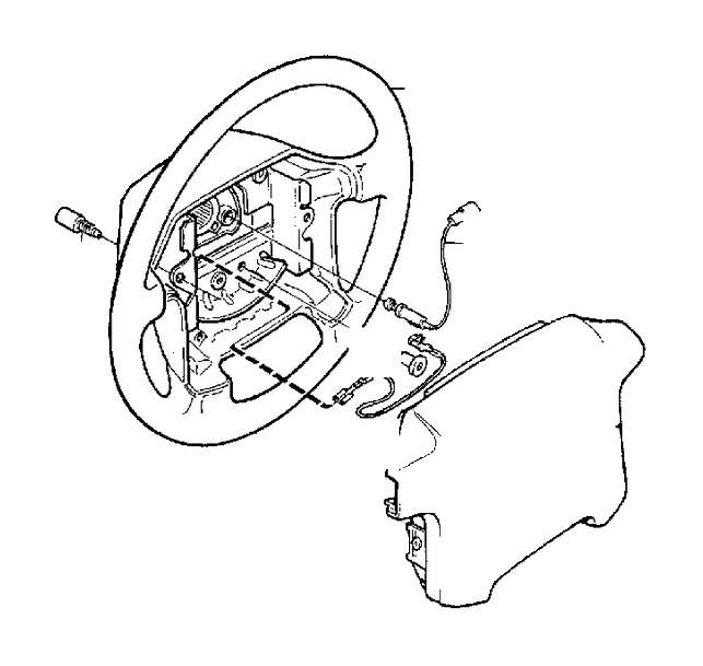 Volvo V90 Wiring Harness  Dl  Gl  Dls  Gls  Steering Wheel