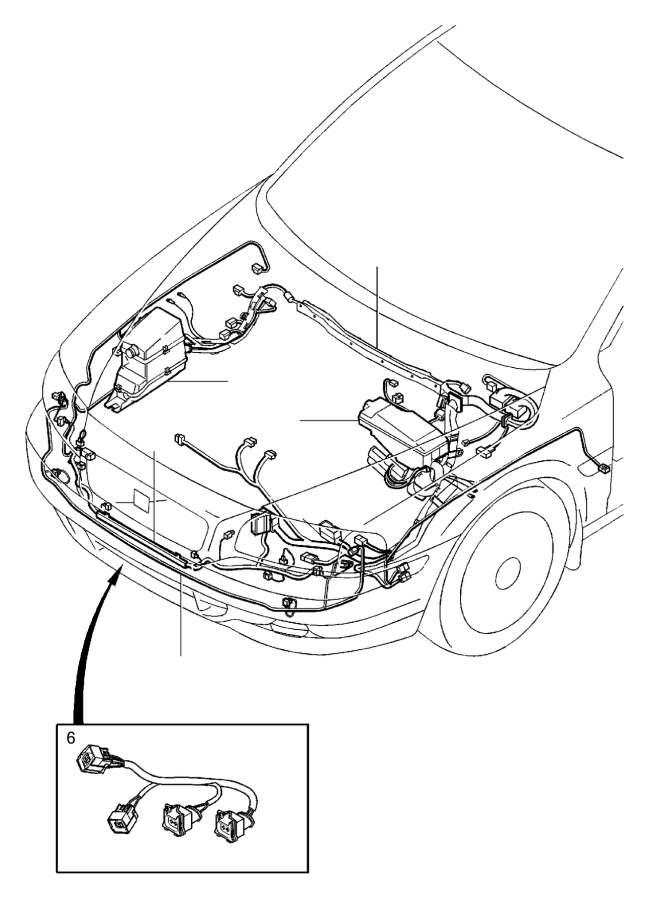 Volvo S80 Wiring Harness  Auto Trans  Diesel  Engine