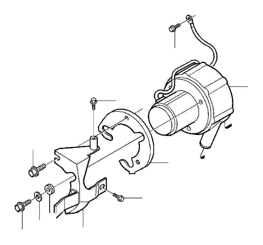 Volvo 960 Engine Timing Belt Tensioner -1995. 4CYL. 6CYL ...