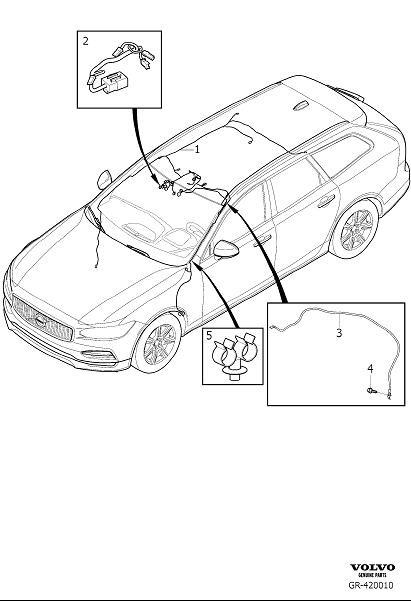 Volvo V90 Cross Country User Wiring Diagram