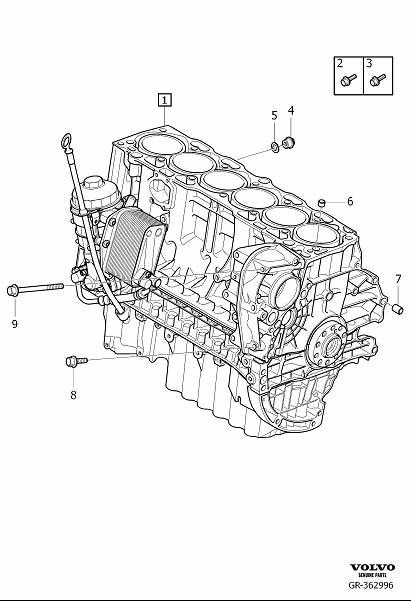 Volvo S80 Engine Short Block