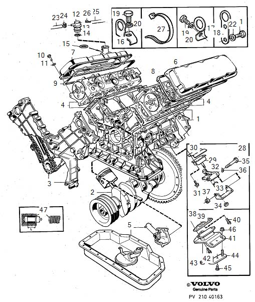 Volvo 760 O Ring  Engine  Fittings