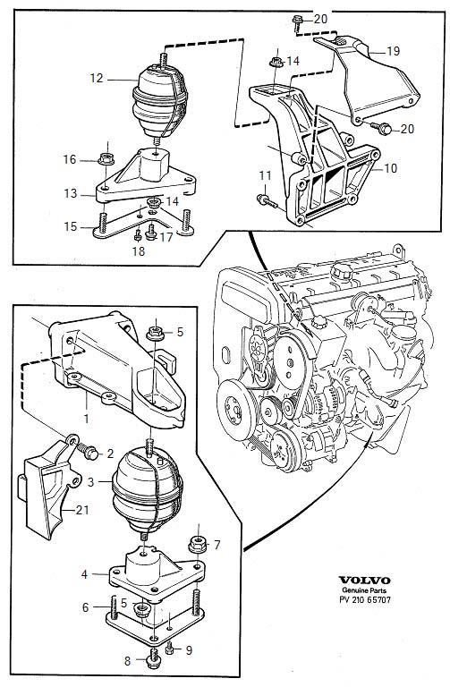 Volvo S90 Engine Mount