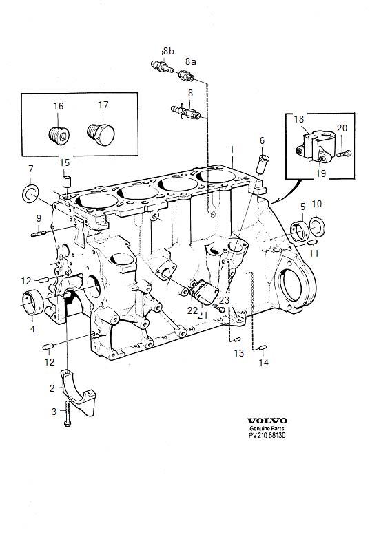 Volvo 760 Expansion Plug  B17  B19  B20  B21  B23