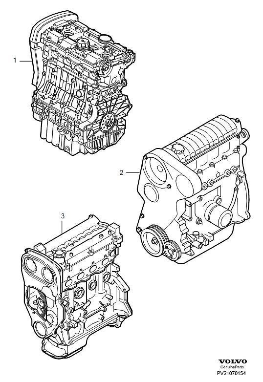 Volvo V40 Engine Complete